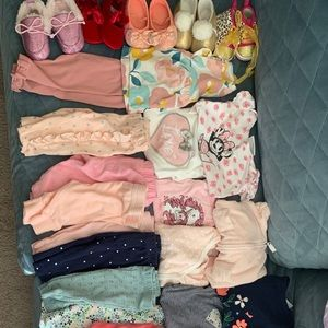 0-3 months girls bundle. All that is pictured.